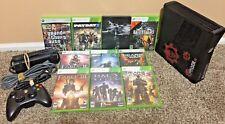 Xbox 360 Slim 250GB Bundle - Controller + 10 Games + More - Free Shipping