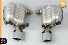 08-11 Mercedes W204 C250 C300 C350 AMG Exhaust Muffler Left and Right Assembly