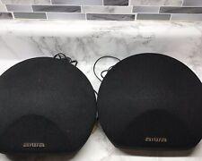 Aiwa SX-R275 Surround Component Satellite Speakers 40 Watt 8 Ohms Set Of 2 EUC