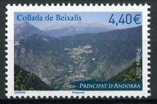 More details for french andorra 2021 mnh landscapes stamps collada de beixalis mountains 1v set