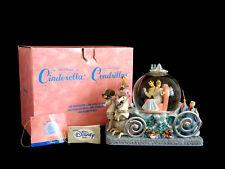 Disney 50th Anniversary Cinderella Carriage Snow Globe Plays So This Is Love Box