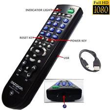 Full HD 1080P 8GB SPY DVR Hidden Camera Mini TV Remote Control Videorecorder Cam