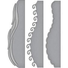 Spellbinders Card Creator Die ~ A2 WAVES BORDERS ~ S4-788
