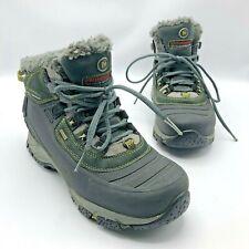 Merrell Continuum Winterlude 6 Women Black Waterproof Insulated Boot Shoe Size 7