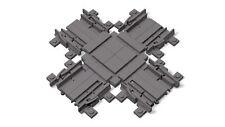 Lego City Tren Cruce para Pistas y Raíles Der Ferngesteuerten Locomotora