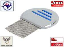 Hair Lice Nit Comb Head Lice Flea Detection Stainless Steel Kids/Pets [A9B~B41]