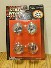 Star Wars Episode 1 Super Bounce Ball Party Favors Toy