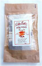 Hibiscus CINNAMON & CLOVE TEA Organic Sorrel Bissap Karkade Tea Bags Vit C Drink
