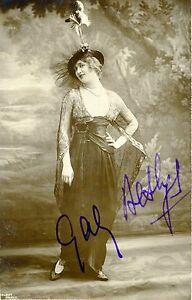 Gaby DESLYS (Actress): Signed Photograph