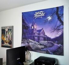 KING DIAMOND Them HUGE 4X4 BANNER fabric poster tapestry cd album wall decor