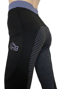 Ladies Silicone Grip Riding Tights Lycra Horse Riding Tights sizes 8 - 24