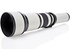 Opteka 650-2600mm Telephoto Lens for Nikon D7500 D7200 D5600 D5500 D3400