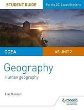 CCEA A-level Geography Student Guide 2: AS Unit 2 by Tim Manson (Paperback, 2016)