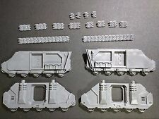 Warhammer 40k Space Marines Rhino Sides / Track Bits