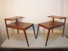 Vintage Kurt Ostervig End Table PAIR Teak Danish Modern Design