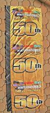 "Rare - NHRA 50th WINTERNATIONALS 2010 Pomona, Large Event Banner/Pole Flag 74"""