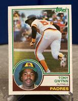 1983 Topps TONY GWYNN San Diego Padres #482 ROOKIE CARD