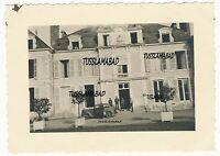Wehrmacht Soldaten Schloß Quartier Besatzung Frankreich Belgien im 2 WK