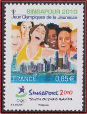 2010 FRANCE N°4491** Singapour Jeux Olympiques, Singapore France 2010 MNH