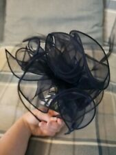 Brand New With Tags Debenhams Navy Fascinator