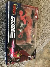 GI Joe Classified Series Baroness Action Figure With Cobra C.O.I.L. Motorcycle