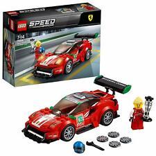 LEGO 75886 Speed Champions Ferrari 488 GT3 Scuderia Corsa 2018 Model Car Set