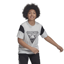 Adidas Kids Young Boys Tshirt Predator Tee Football Fashion DV1336 New Lifestyle