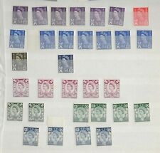 GB - Scotland Regional Stock book mix mainly MNH postage stamps