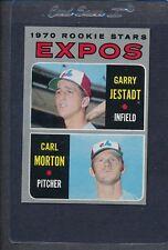 1970 Topps #109 Expos Rookie Stars Jestadt/Morton EX *5939