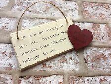 Personalised Christmas Gift for Teacher- Handmade Wooden Plaque