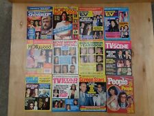 12 Vintage 1970'S Magazines Either Featuring Or With Cher On The Cover