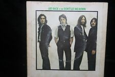 Beatles Get Back/Don't Let Me Down Singles Collection 45 Pic Sleeve 1969 Import