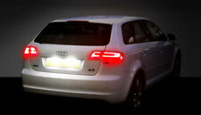2x AUDI A3 S3 A4 RS4 A5 A6 TT BRIGHT WHITE LED NUMBER PLATE LIGHT BULBS NO-ERROR