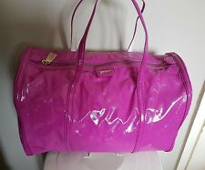 DKNY LIMITED EDITION pink patent bowling bag