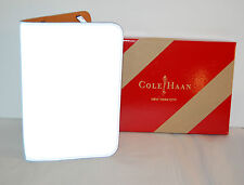 New $80 Cole Haan Reflective Silver Kindle Cover Leather Key/Fire