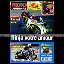 MOTO JOURNAL N°1286 GUZZI CALIFORNIA EV 1000 YAMAHA YZF 400 F CARL FOGARTY 1997