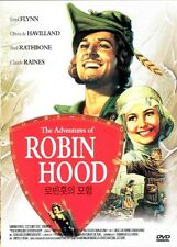 The Adventures of Robin Hood (1938) DVD / NO CASE (Only Cover & Disc)