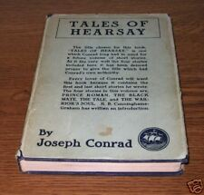 TALES OF HEARSAY Joseph Conrad  First 1st Edition Ed
