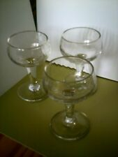 antique sherry glasses (3)