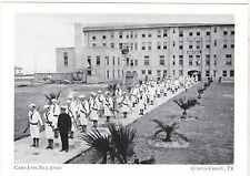 "+PC-Postcard-""Cadets in Formation/Camp John Paul Jones""-Corpus Christi Tx (A2-3)"