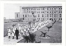 "*Postcard-""Cadets in Formation @ Camp John Paul Jones""-Corpus Christi Tx. (A2-9)"