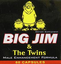 1-PENIS ENLARGEMENT-BIG JIM & THE TWINS-MALE ENHANCER PILLS(or BUY 3 GET 1 FREE)