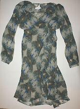 12th St By Cynthia Vincent Womens Cascade Ruffle Floral Maxi Dress XS P NWT$238