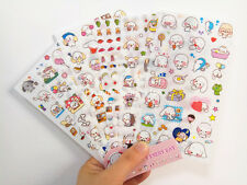 6 sheet happy dog Diary Planner notebook Scrapbooking Kawaii Decorative stickers