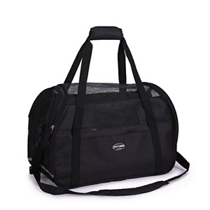 Pet Carrier Airline Approved Dog Cat Padded Soft Sided Bags Puppy Rabbit Travel