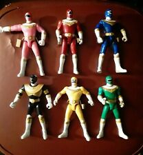 Bandai Power Rangers Zeo Action Figure Lot Loose