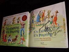 Peter Yarrow Noel Paul Stookey signed It's Raining, It's Pouring W/3 song CD