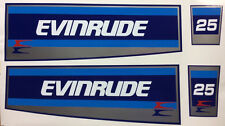Evinrude Hood Decals 20/35 hp