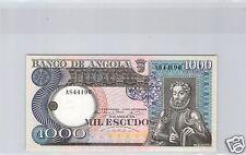 ANGOLA 1 000 ESCUDOS 10.6.1973 PICK 108 QUALITE !!!!