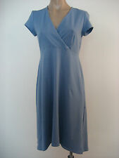 EILEEN FISHER Cotton Jersey Stretch Empire Waist Hi Lo Dress S Small NWT $138